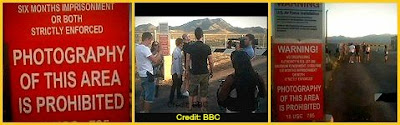 Group Being Detained at Area 51 (Still From Conspiracy Road Trip - UFOs)