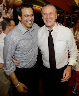 Erik Spoelstra and Pat Riley, Heat Repeat