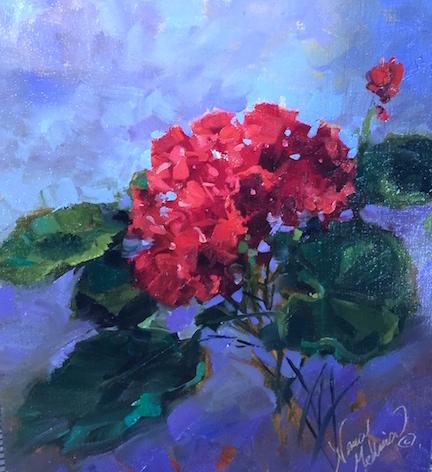 Nancy Medina Art Thunder In Tuscany And 1000 Years Of