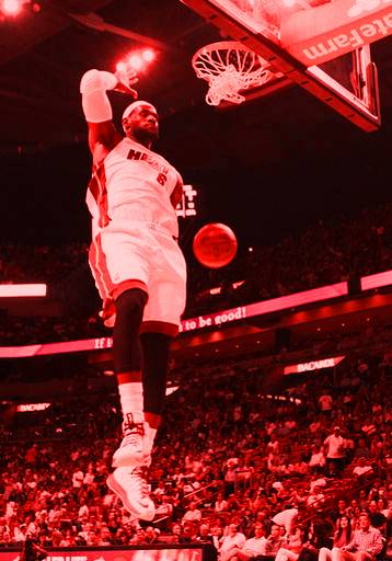 LeBron Heat win streak