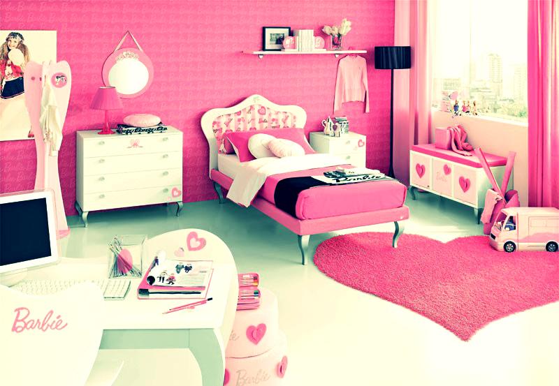 La femme fatale barbie dream rooms for Barbie dream house bedroom