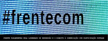 Entidades convocam a sociedade para o lançamento da #frentecom