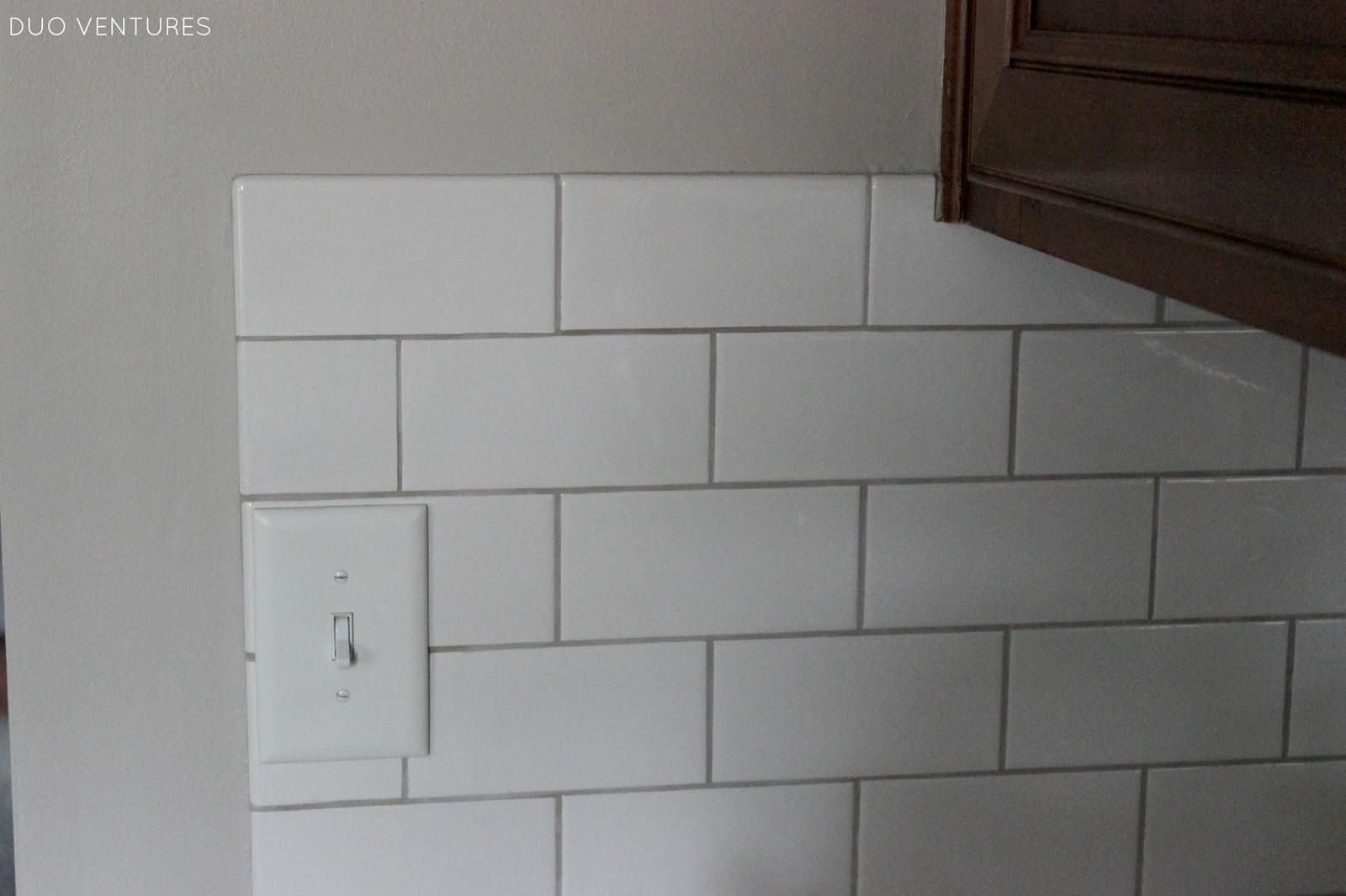 Mexican Ceramic Tile Backsplash Around The