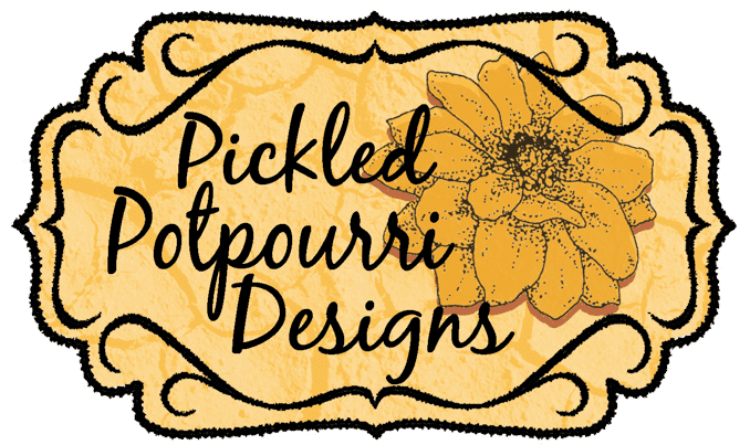 Pickled Potpourri Digital Stamps, Papers and Printables