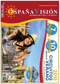 Catalogo de viajes verano España Vision