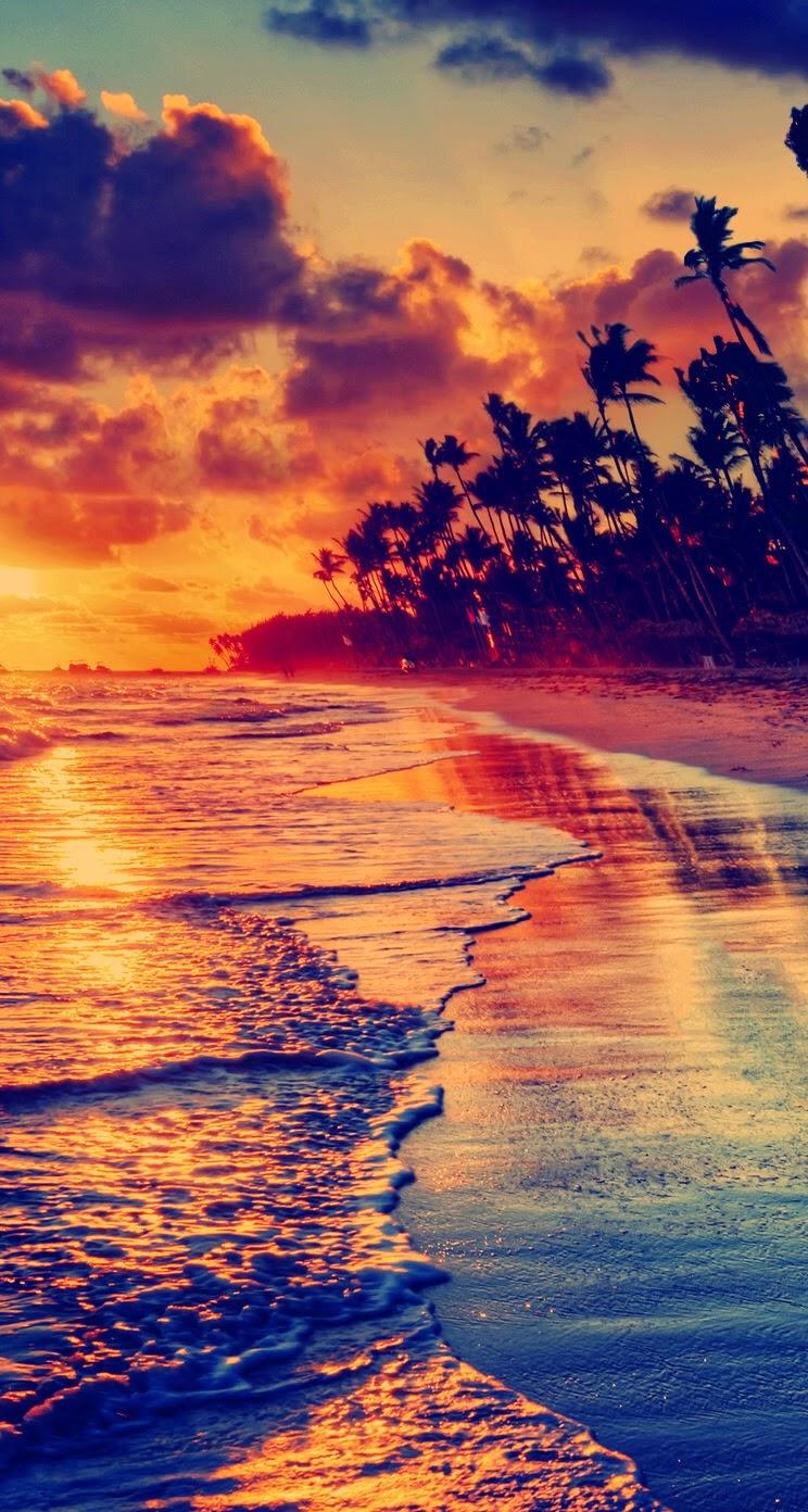 Sunset Beach Iphone 5, 5S & 5C