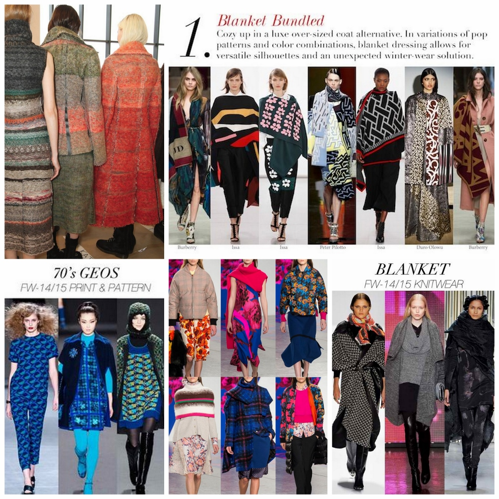 Crafts of Texture: Autumn Winter 2014/2015 Knitwear: Catwalk Shapes ...