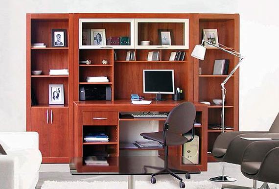 Arte hogar bibliotecas - Bibliotecas de madera ...