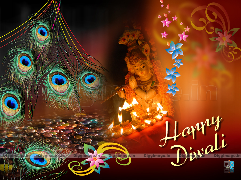 Wallpaper download diwali - New Diwali Greetings With Krishna Wallpapers For Pc Also Free Download