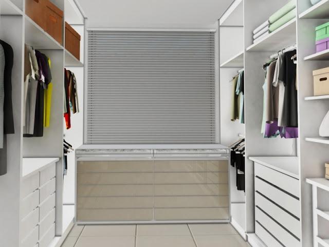 Decor pequenos com estilo Pequenos closets ~ Closets Pequenos