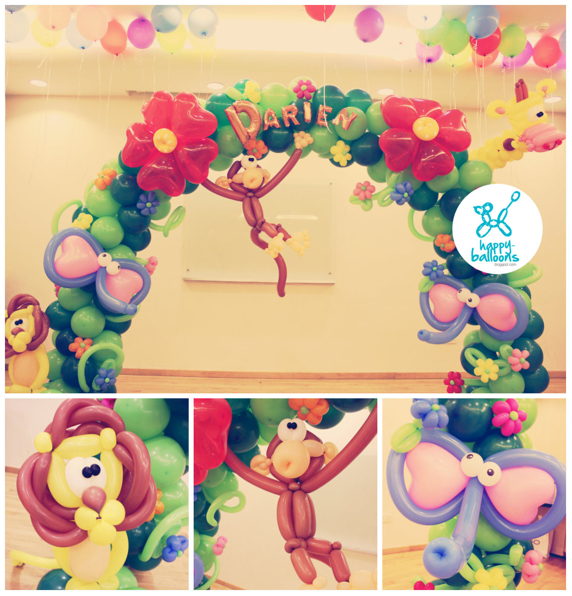 404 not found for Balloon arch decoration