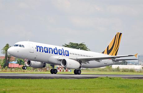 Mandala Airlines Airbus A320 PK-RMR