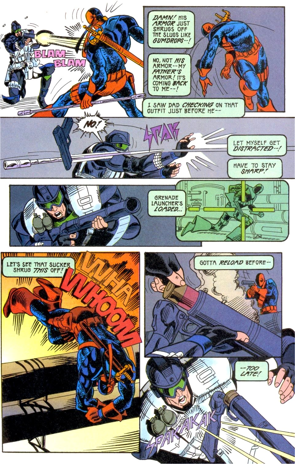 Deathstroke (1991) Annual 2 #2 - English 40