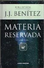 MATERIA RESERVADA