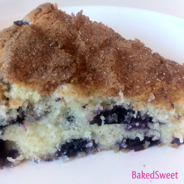 BakedSweet Blog: Blueberry Cream Cheese Coffee Cake