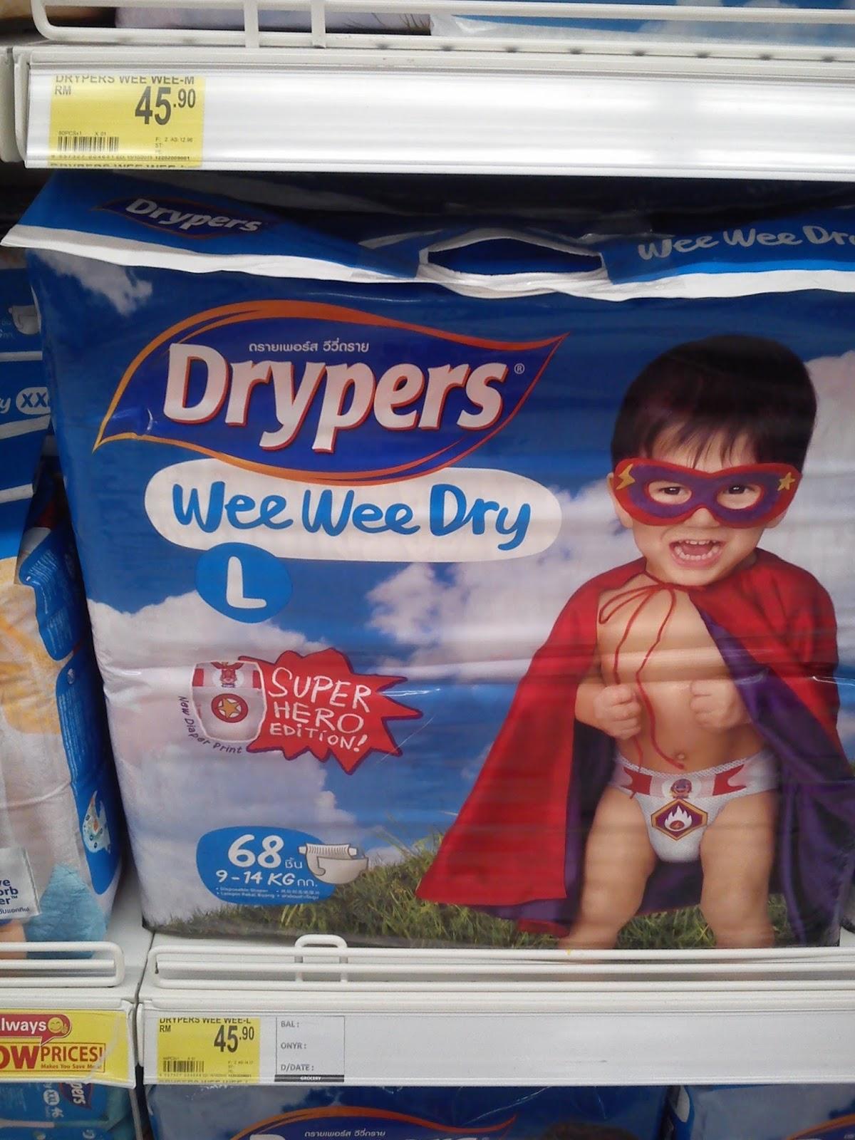 Harga Pampers Drypers