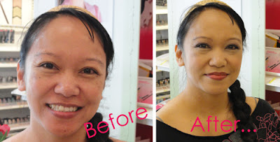 Before and After Beauty Makeover With Petra Strand