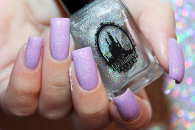 Swatch of a dupe of IKOABD from Enchanted Polish