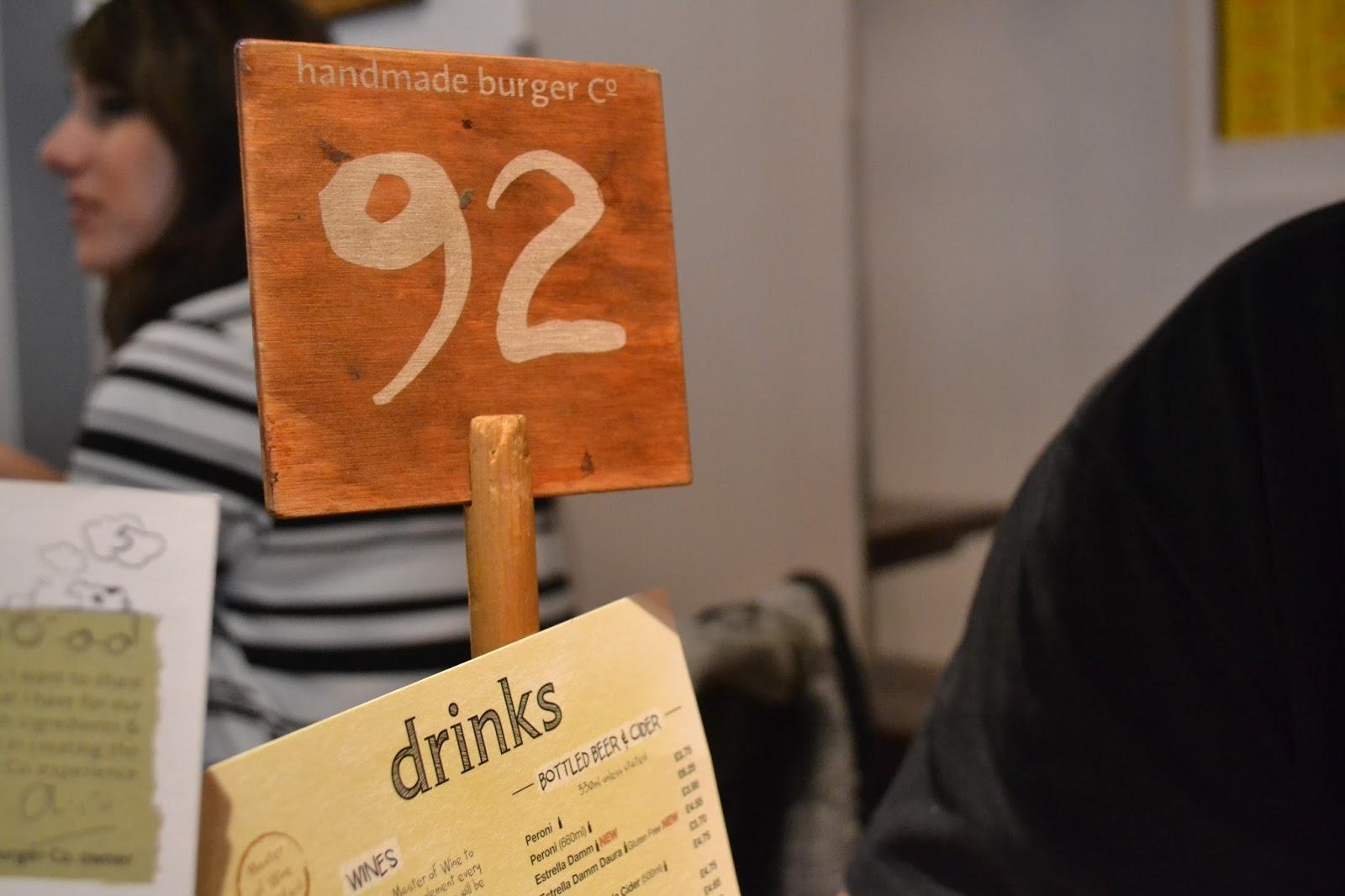 Handmade Burger Co, Brindley Place Birmingham Review - Rachel Nicole UK Blogger
