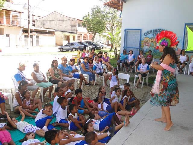 Contação de histórias para crianças
