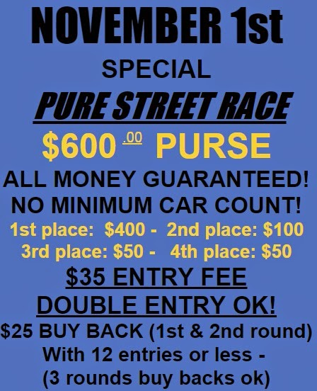 Pure Street Race at Tater Town Raceway