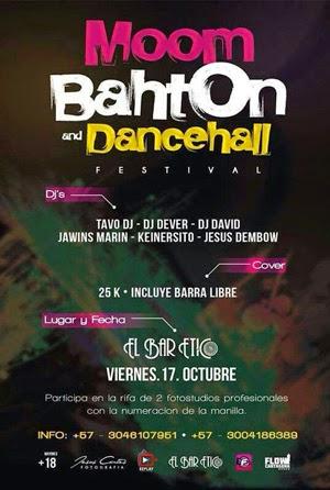MOOMBAHTON & DANCEHALL FESTIVAL