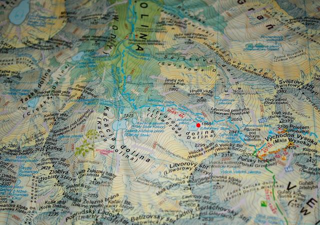 Litworowy Staw na mapie