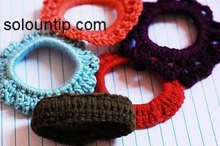 ****NotaHaz clic aquí paso a paso como tejer estos accesorios para el pelo