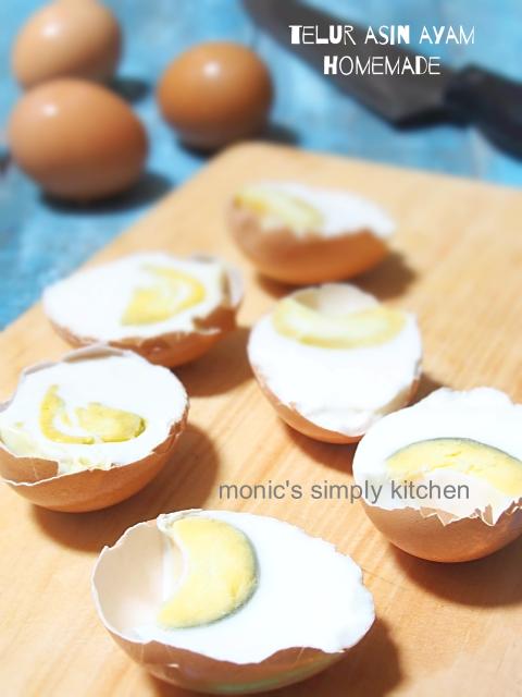 cara membuat telur asin ayam homemade