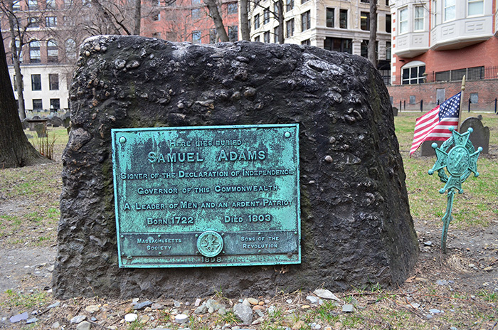 sam adams boston