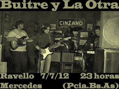 """Buitre y La Otra en """"El viejo almacén de Ravello"""" II Hernan buitre Deheza, nex Lopez"""