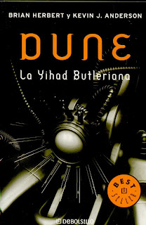 Dune-La Yihad Butleriana de Brian Herbert