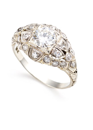 bliss antique wedding rings