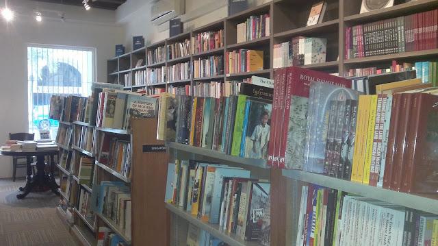 Select Books, Armenian Street, Singapore