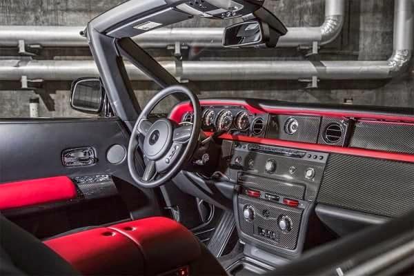 Rolls-Royce Phantom Drophead Coupe Nighthawk
