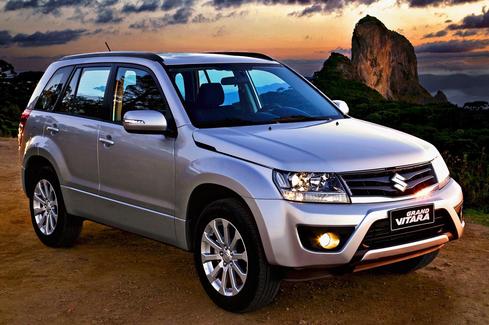 novo Suzuki Grand Vitara 2014 dianteira