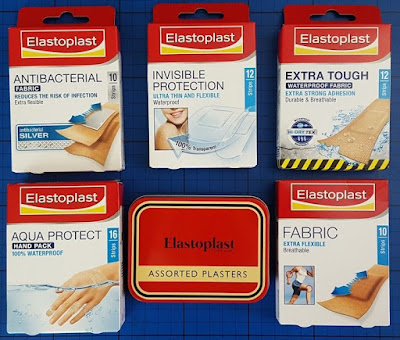 Range of Elastoplast sticking plasters