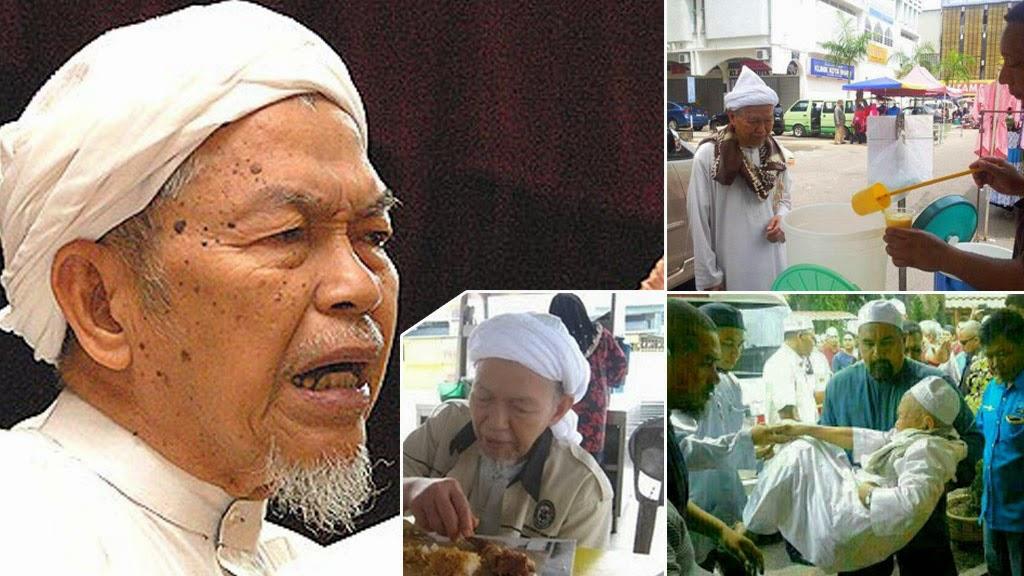 Tok Guru Nik Aziz yang luar biasa penuh tawaduk