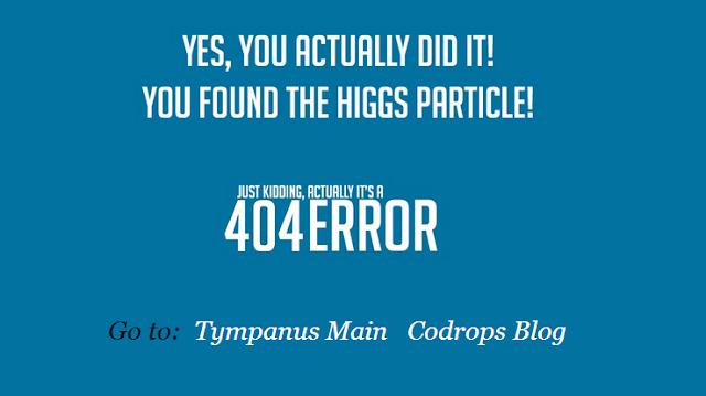 Tympanus pagina de error