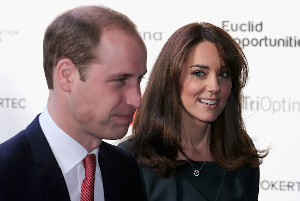Catherine, Duchess of Cambridge and Prince William, Duke of Cambridge attend the ICAP's 23rd Annual Charity Day