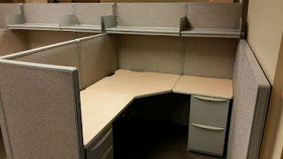 Used Haworth Unigroup office cubicles
