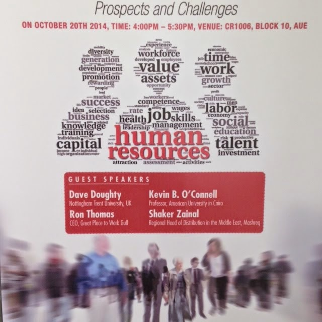 HR Roundtable @ American University in Dubai, October 20, 2014