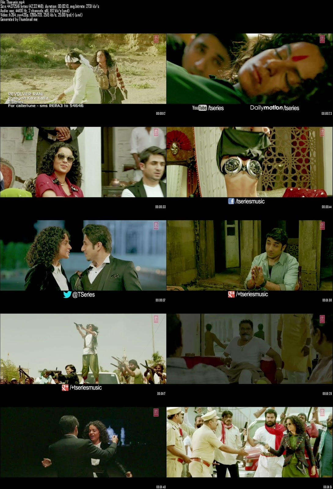 Mediafire Resumable Download Link For Video Song Thaayein Kare Katta - Revolver Rani (2014)