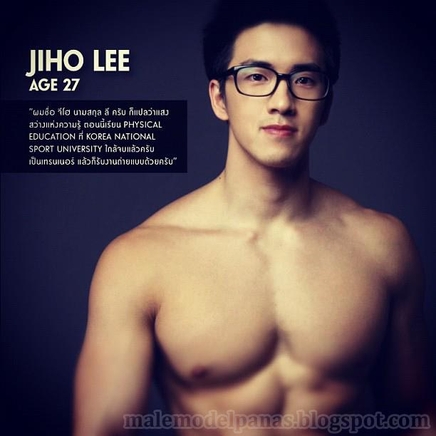 Cute Korean Male Model-Jiho Lee
