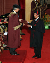 My Convocation at UTM Skudai Johor on 22.10.2011