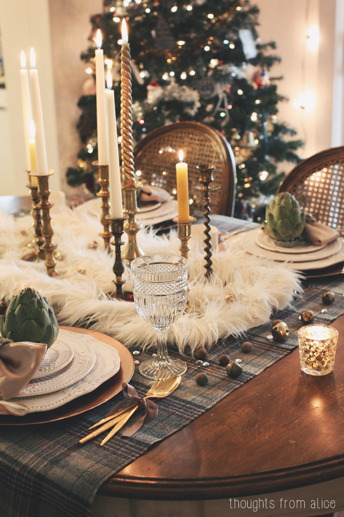 I Wanted To Add Some Eclectic Glamour This Year Like Walking Into An Anthropologie Holiday Catalog
