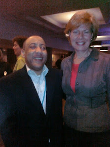 Kylar and US Senator Tammy Baldwin