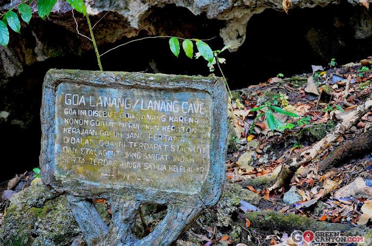 Gua Lanang/Lanang Cave di Wisata Pangandaran