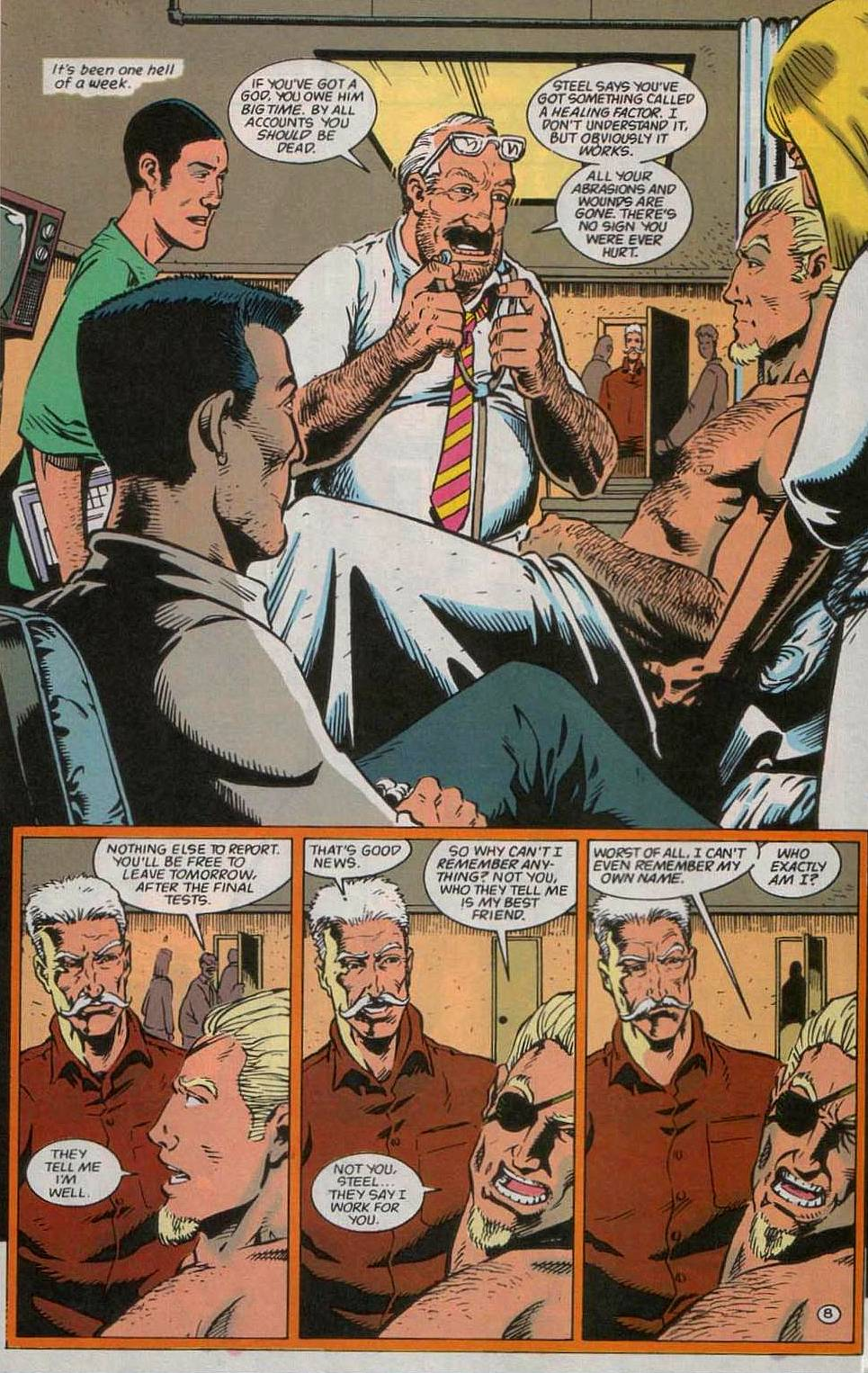 Deathstroke (1991) Issue #55 #60 - English 9
