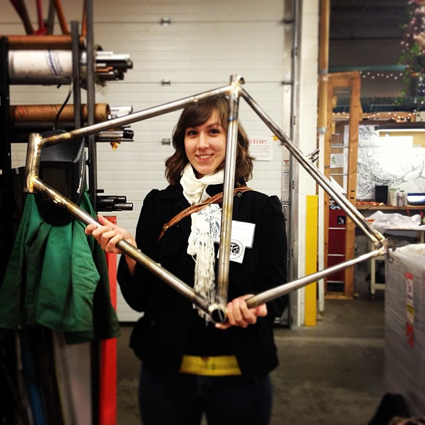 sculpture gym special workshop byo bicycle frame class 41